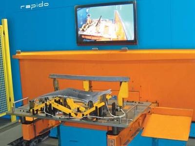 Laser 3d Rapido Prima Power dettaglio interno
