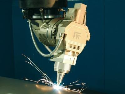 Laser 3d Rapido Prima Power dettaglio laser